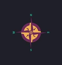 Compass computer symbol vector image