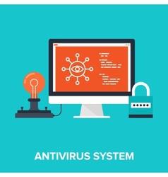 Antivirus system vector