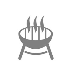 Barbacue icon vector