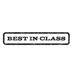 Best in class watermark stamp vector