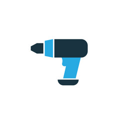 drill colorful icon symbol premium quality vector image