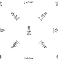 Electric pole pattern seamless vector