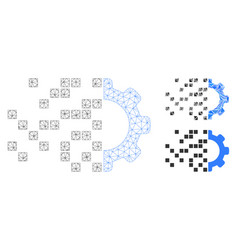 Gear synthesis mesh network model and vector