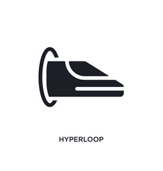 Hyperloop isolated icon simple element from vector