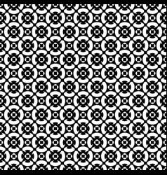 Monochrome ornament texture seamless pattern vector
