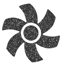 Rotor Grainy Texture Icon vector