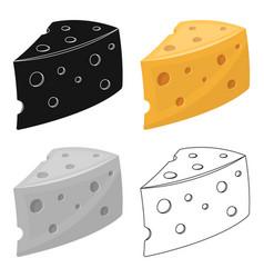 Rustic homemade cheese homemade homemade dairy vector