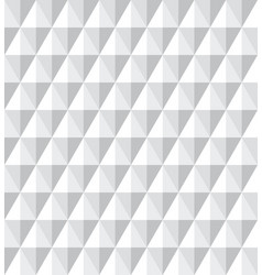 Seamless 3d diamonds pattern vector