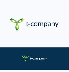 T company logo vector