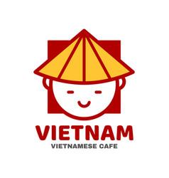 vietnam logo template design vector image
