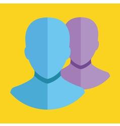 Choose Profile Icon vector image