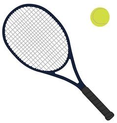 Tennis racket vector image vector image