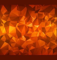 abstract polygonal background triangles vector image vector image