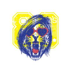 80s pop vector image