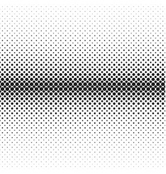 Monochrome abstract halftone circle pattern vector