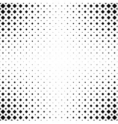 monochrome abstract square pattern background vector image