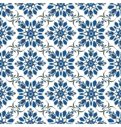 Ornamental pattern Turkish seamless background vector image