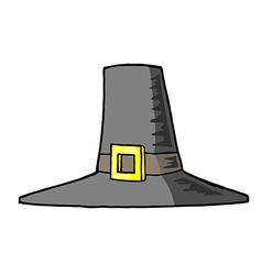 Pilgrim farm cartoon vector image