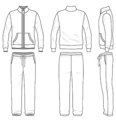 Gym suit vector image