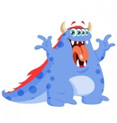 Funny monster vector