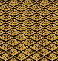 Beautiful asian art pattern background vector
