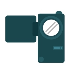 Camcorder film video travel device vector