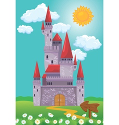 castle 380 vector image