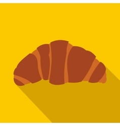 Croissant icon in flat style vector