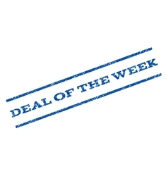 Deal Of The Week Watermark Stamp vector