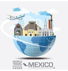 Meico Landmark Global Travel And Journey vector
