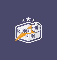 soccer sport team isolated emblem vector image