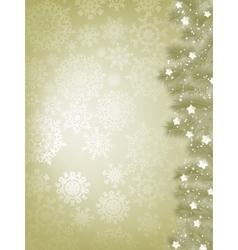 Elegant christmas background with snowflake EPS 8 vector image