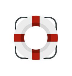 lifeline icon flat style vector image