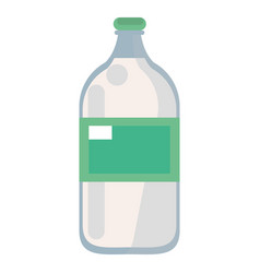 mineral water bottle fresh vector image