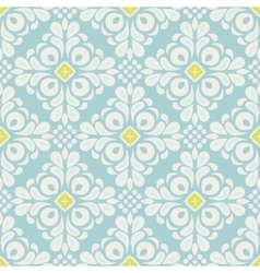 Abstract seamless ornamental tiled pattern vector