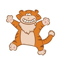 Funny Tiger vector