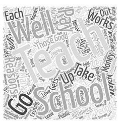 Good Reasons to Teach Word Cloud Concept vector