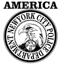 New york Vintage Slogan Man T shirt Graphic Design vector