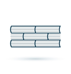 Read books concept icon vector