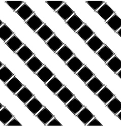 Seamless pattern with black rhombus vector image