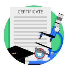 academic education icon vector image