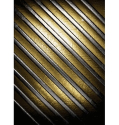 gold and silver background vector image