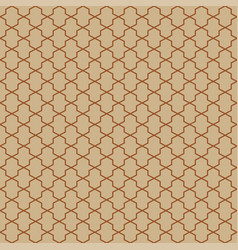 abstract pattern in arabian style seamless vector image
