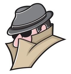 Spy icon3 vector image vector image