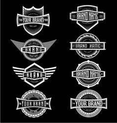 Vintage Brand Label Badges vector image vector image