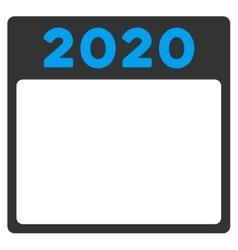 2020 Plan Icon vector