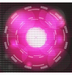 Abstract Background purple Glowing Circle vector
