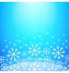 Abstract Christmas background Elegant winter vector