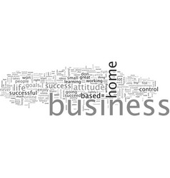 are you right for a home based business vector image