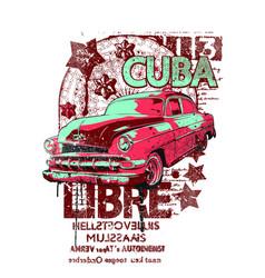 Cuba libre vector